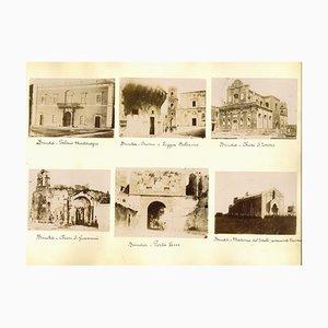 Vues Inconnues de Venise et Brindisi, Albumine, 1880s-1890s, Set de 12
