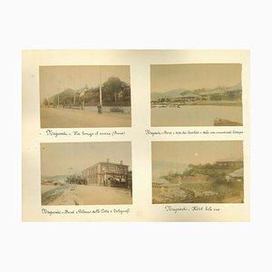Unknown, Ancient Views of Nagasaki, Albumen Print, 1880s-1890s, Set of 8