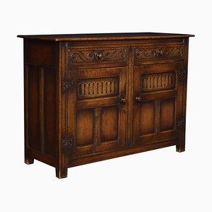 Jacobean Style Oak Cupboard