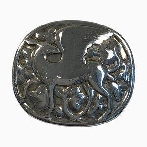 Sterling Silver Nr. 81 Brosche von Georg Jensen