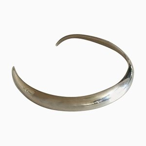 Sterling Silver Open Neck Ring by Aage Fausing