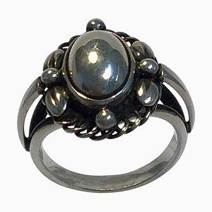Sterling Silber No. 1A Ring von Georg Jensen