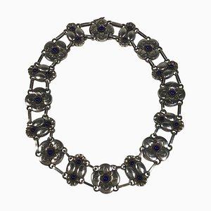 Sterling Silber Halskette Nr. 25 von Georg Jensen