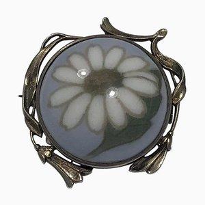 Porcelain Brooch No 592/311 from Royal Copenhagen