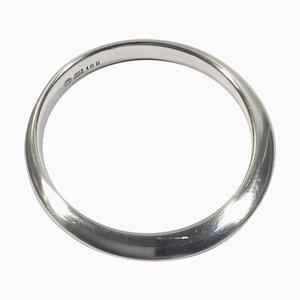 Ring Nr. 168 Armlehnstuhl aus Sterlingsilber von Nanna Ditzel für Georg Jensen