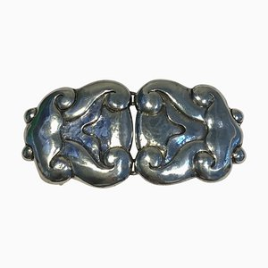 Bindesboll Belt Buckle in Silver from Holger Kysters Silver Smithy