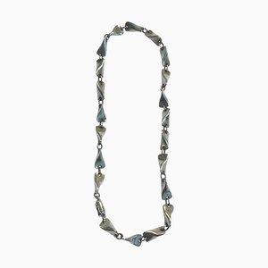 Sterling Silver Necklace No 104a by Edvard Kindt-Larsen for Georg Jensen