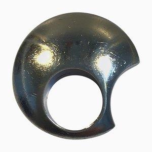 Sterling Silver Ring Flying Saucer by Hans Hansen