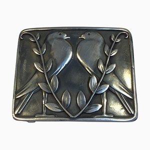 Cintura fibbia nr. 68 in argento di Georg Jensen