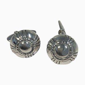 Silver Cufflinks No 24 from Georg Jensen