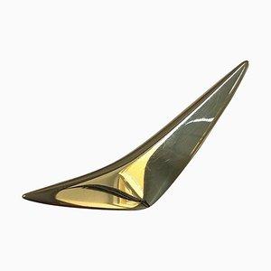 14 Karat Gold Brooch No 158 by Hans Hansen