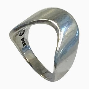 Sterling Silver Ring No A77a from Georg Jensen