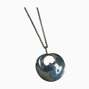 Necklace Sterling Silver, Hidden Heart Vivianna Torun Bülow-Hübe from Georg Jensen