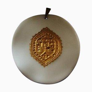 Collar colgante con cadena de plata esterlina de Anton
