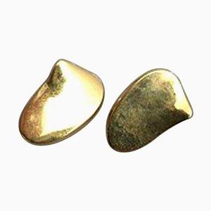 14 Karat Gold Ohrclips von Bent Gabrielsen