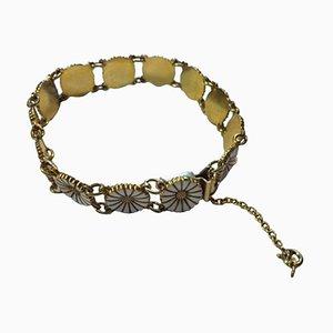 Sterling Silver & Enamel Bracelet from Bernhard Hertz
