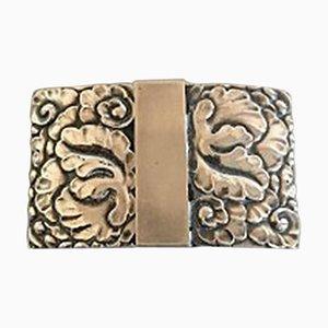 Silver #66 Belt Buckle from Georg Jensen