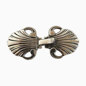 Silver #44 Belt Buckle from Georg Jensen