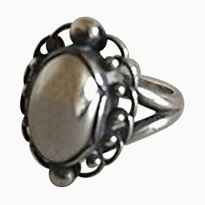 Sterling Silver #21 Ring from Georg Jensen