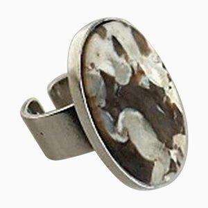 Sterling Silber # 188a Ring von Georg Jensen