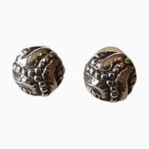 Sterling Silber # 57 Ohrringe von Georg Jensen, 2er Set