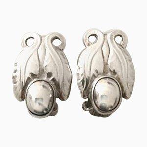 Orecchini nr. 108 in argento sterling di Georg Jensen