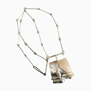 Sterling Silver X20 Necklace from Lapponia Finland