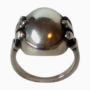 Sterling Silver #51 Ring from Georg Jensen