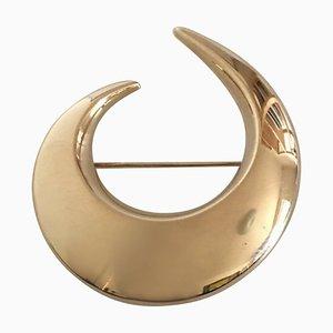 14 Karat Gold #105 Brooch from Hans Hansen