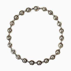 Sterling Silber # 42 Halskette von Georg Jensen