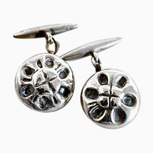 Silver Cufflinks No 4 from Georg Jensen