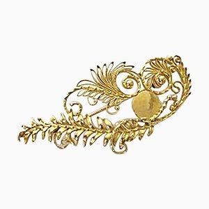18 Karat Gold #53 Brooch from Georg Jensen