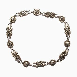 Collana nr. 10 in argento di Georg Jensen