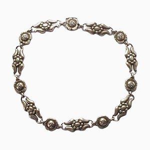 Sterling Silver No. 10 Halskette von Georg Jensen