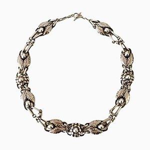 Collana nr. 1 in argento di Georg Jensen