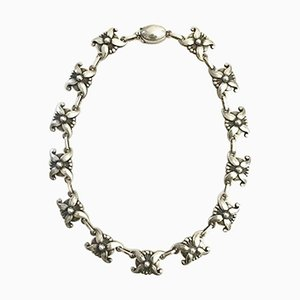 Sterling Silver No. 18a Necklace from Georg Jensen