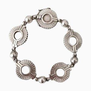 Sterling Silver Art Deco Bracelet No 101 from Georg Jensen