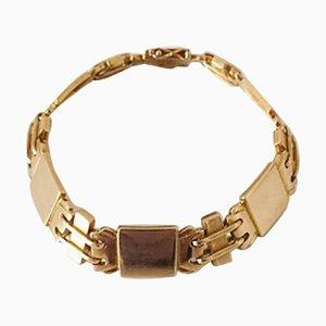 18 Karat Gold No. 287 Armband von Georg Jensen