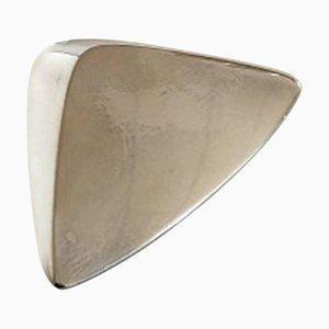 Sterling Silver No. 116 Brooch by Hans Hansen