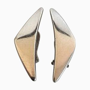 Orecchini nr. 432 in argento di Hans Hansen
