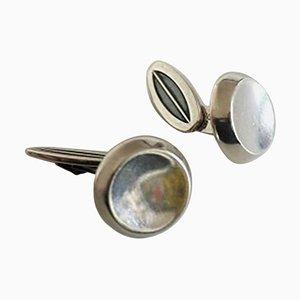 Sterling Silver No. 603 Cufflinks by Hans Hansen