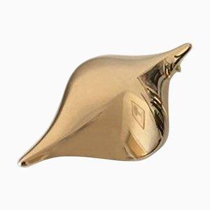 Moderne Brosche aus 18 Karat Gold Nr. 106 von Hans Hansen