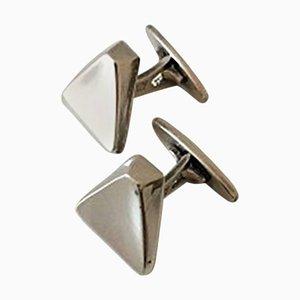 #38 Cufflinks in Sterling Silver from Bent Knudsen
