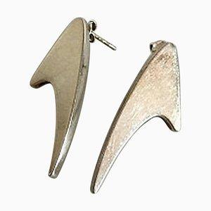 Sterling Silber Ohrringe von Bent Knudsen