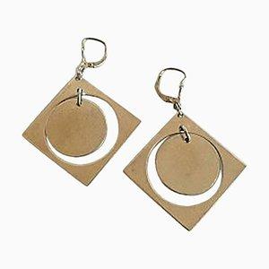 Sterling Silver Earrings by Bent Knudsen