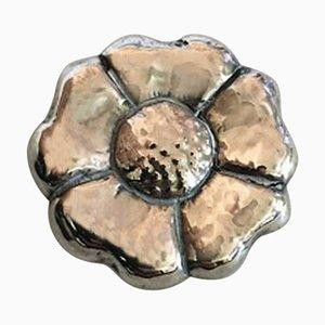 Bindesboll Brosche in Silber von Holger Kyster