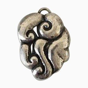 Silberne Kettenanhänger aus Silber in Kolding von Thorvald Bindesboll für Holger Kysters Smithy