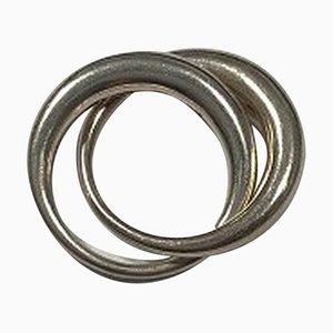 Sterling Silber No 447 Luna Ring Georg Jensen