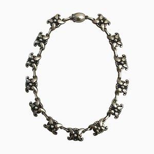Sterling Silber No 18A Halskette von Georg Jensen