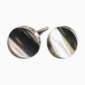 Sterling Silver Cufflinks No 107 from Georg Jensen, Set of 2
